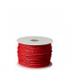 Paper cord with wire insert, diameter 2 mm